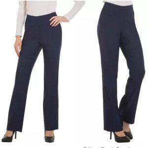 Red Hanger Women's Stretchy Dress Pants XL Navy